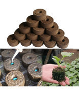 Nursery Soil Block Gardening Plants Seedling Peat Cultivate Block Seed M... - £0.80 GBP+