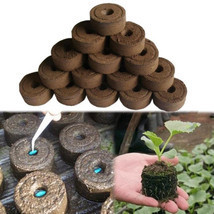 Nursery Soil Block Gardening Plants Seedling Peat Cultivate Block Seed M... - $1.10+