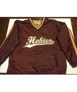Virginia Tech Hokies embroidered Heavyweight (L) Pullover Jacket Steve &... - $31.35