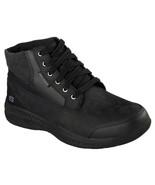 Men's SKECHERS Relaxed Fit Bursen - Teven Boot, 64852 /BLK Size 11.5 Black - $79.95