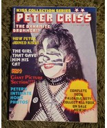 KISS Collection Series Magazine Peter Criss 1979 Complete Excellent NM C... - $45.00
