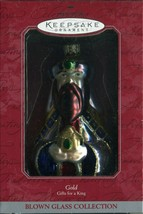 1998 New - Hallmark Keepsake Christmas Ornament (3) Blown Glass Gifts fo... - $9.89