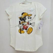 Disney Family Fun Girl's Size 4 Mickey Mouse Hiking Whistling S/S Shirt NWT - $9.00