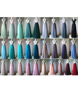 Tulle TUTU Color chart Color Swatches Women Tulle Skirt Wedding Tulle Outfits - $0.50 - $2.00