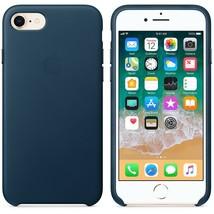 Original Apple Genuine Leather Cover Case for iPhone 7, iPhone 8 Cosmos ... - $65.82