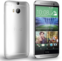 """Htc one m8 at&t silver 2gb 32gb quad core 5.0"""" hd screen android 4g smartphone - $176.80"""