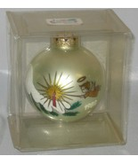 Bronners 1982 Christmas Ornament Globe Made in Austria - $25.00
