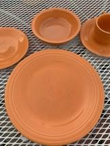 fiestaware vintage dinner plates Orange - $59.40