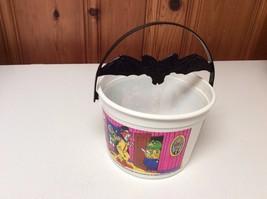 White  McDonald's Halloween Trick or Treat Bucket Bat Handle McGoblin - $5.00