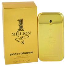 1 Million by Paco Rabanne 1.7 oz Eau De Toilette Spray -100% Authentic - $52.92
