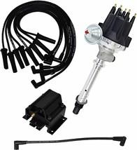 Ford SB Windsor Pro Series R2R Distributor 289/302W, V8 8mm Spark Plug Kit