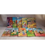 Walt Disney Children's Books Set, Mickey Mouse, Donald Duck, Winnie Pooh... - $7.25