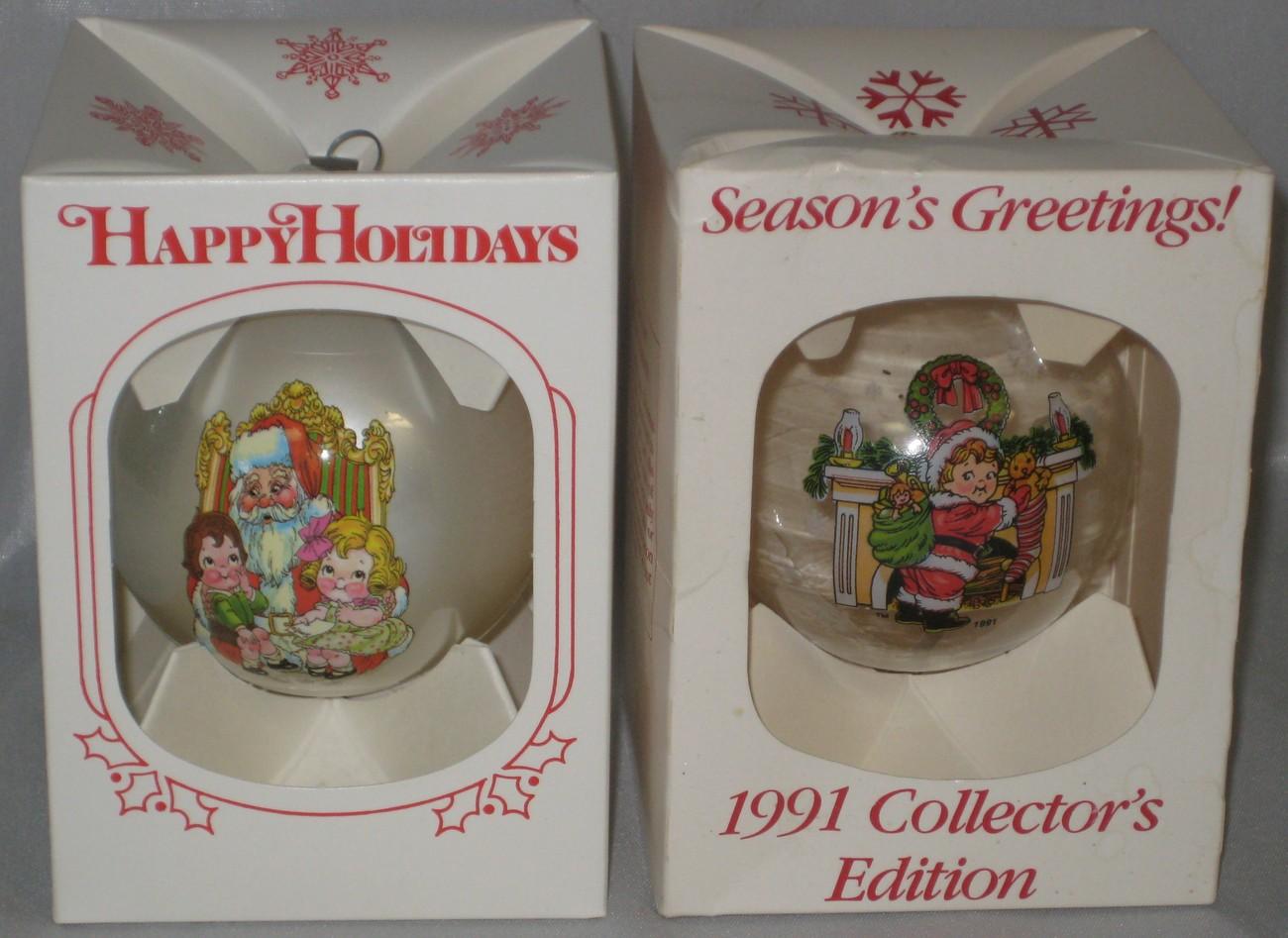Campbells soup christmas ornament 1980 1991