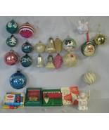 Vgt Lot Of 15 German & USA & Czechoslovakia Ornaments - $50.00