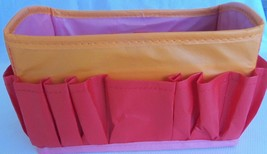 """Craft/Tool Caddy 11 Outer Pockets 9x5"""" Inner Section + 4 pockets Collaps... - $8.58"""