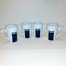 Lot of 4 LAVAZZA By ONEIDA Porcelain Coffee Latte Mugs LN - $24.99
