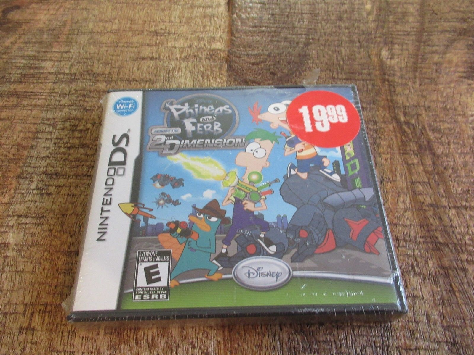Phineas and Ferb: Across the 2nd Dimension (Nintendo DS, 2011) Sealed