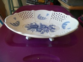 Home Interiors footed oval serving bowl () 1 available - $9.85