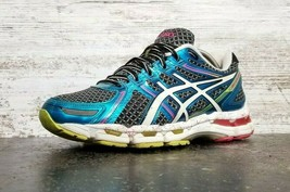 Womens Asics Gel Kayano 19 Running Shoes SZ 10 Used T392N Sneakers - $29.69