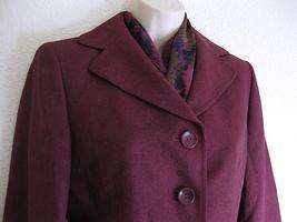Suit Studio Skirt Suit NWT $$$ 10 Dark Berry Purple Plum GLAMOUR  Herrin... - $35.06