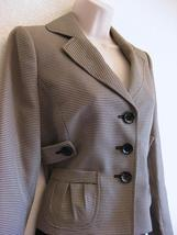 Suit Studio Skirt Suit NWT $$$ 10 Woven SUNSET BLVD Black Tan 44 Side Be... - $41.71