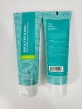 2 Five Deep Breaths Eucalyptus Mint Nourishing Hand Cream De-Stress 4 fl... - $11.88