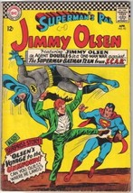 Superman's Pal Jimmy Olsen Comic Book #92 DC Comics 1966 VERY GOOD+ - $9.28