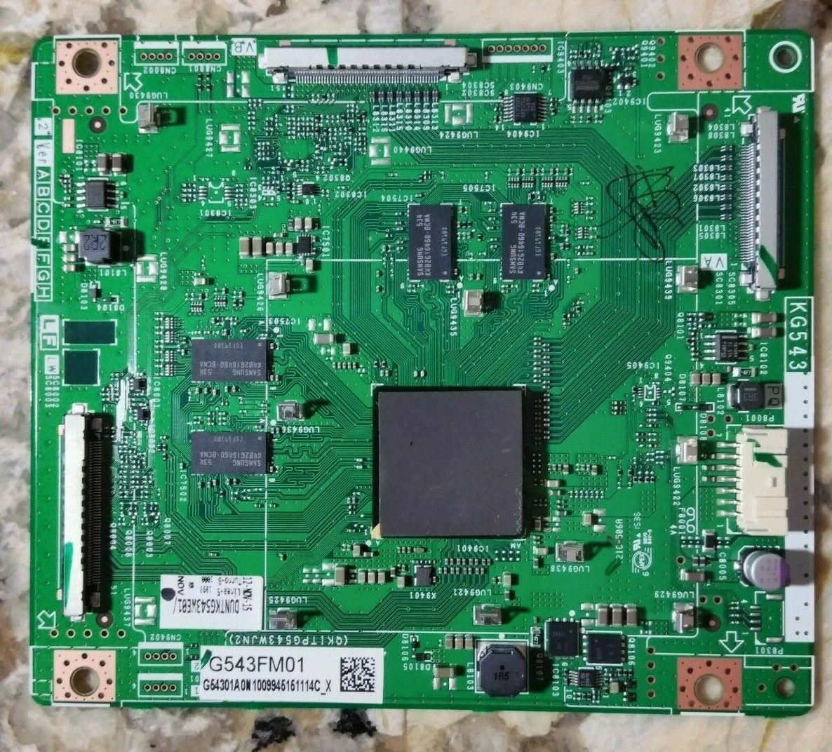 Primary image for SHARP LC-70UH30U FRC Board G543FM01 DUNTKG543WE01 Ver. E