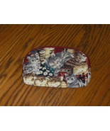 Ted Lapidus Cat Cosmetic Bag Paris Clutch - $10.00