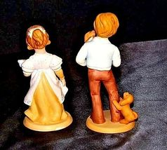 Boy and Girl Figurines (Avon) 1981 AA18 - 1183  Pair ofVintage image 5