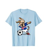 New Shirts - Dog Dabbing Soccer Iceland Jersey Shirt Icelandic Football Men - $19.95 - $23.95