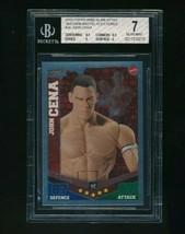 2010 Topps WWE Slam Attax Mayhem Mattel John Cena BGS 7 - $60.00