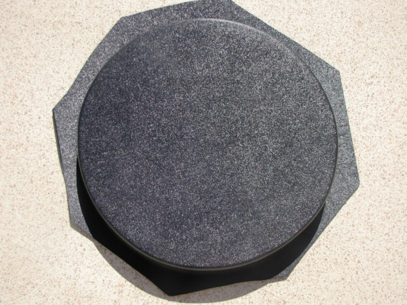"16""x2"" ROUND PLAIN CONCRETE STEPPING STONE MOLD, MOULD- MAKE FOR PENNIES EACH"