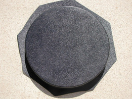 "16""x2"" ROUND PLAIN CONCRETE STEPPING STONE MOLD, MOULD- MAKE FOR PENNIES EACH image 1"