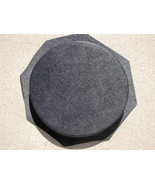 """16""""x2"""" ROUND PLAIN CONCRETE STEPPING STONE MOLD, MOULD- MAKE FOR PENNIES... - $42.99"""