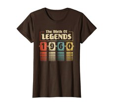 Funny Shirts - Retro The Birth Of Legend 1960 58th Birthday Gift 58 yrs old Wowe image 5