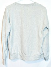 adidas Sport ID Women's Gray Crew Neck Athletics Logo Sweatshirt Size S image 2