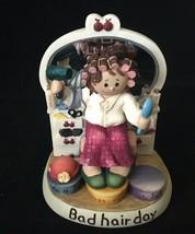 """Zingle-Berry """"Bad hair"""" Resin Figurine hair stylist gift hair salon  - $19.99"""