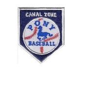 Canal Zone Sports Baseball Pony Baseball League Zona del Panama 3.5 3 in  - $9.99