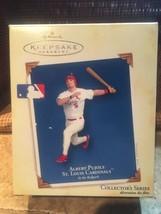 MLB Hallmark Keepsake 2005 Albert Pujols At The Ballpark Christmas Ornam... - $12.87