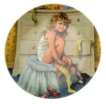 Bradford Exchange c1985 Knowles Beckys Day Collection Getting Dressed John McCle - $34.40