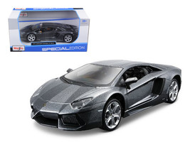 Lamborghini Aventador LP700-4 Grey 1/24 Diecast Model Car by Maisto - $32.98