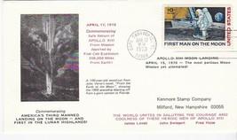 APOLLO 13 SAFE RETURN CAPE CANAVERAL FL APR 17 1970 KENMORE STAMP COMPANY - $1.78