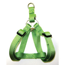Hamilton Lime Green Adjustable Easy On Dog Harness 1 X 30-40 In 01322755... - $29.41