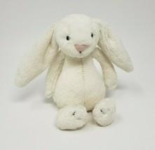 """7 """" Jellycat Petit Bébé Blanc Bunny Rabbit Animal en Peluche Petit Jouet Doux - $21.61"""