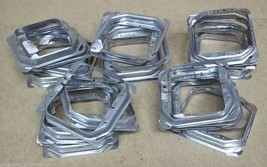 Steel City 52C18-5/8-25 Device Cover Square Raised 4-Inch Galvanized Lot... - $53.91