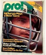 Old Vintage 1976 Magazine Program Pro! Green Bay Packers Philadelphia Ea... - $12.86