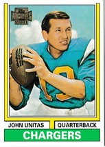 2001 Topps Archives Johnny Unitas San Diego Chargers #132 Football Card - $1.97