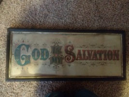 COLTON ZAHM & ROBERTS RELIGIOUS SAYINGS PRINT - $275.00