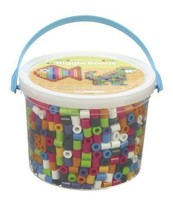 Perler 439458 BIGGIE Beads 1,200/Pkg, Assorted Colors - $14.55